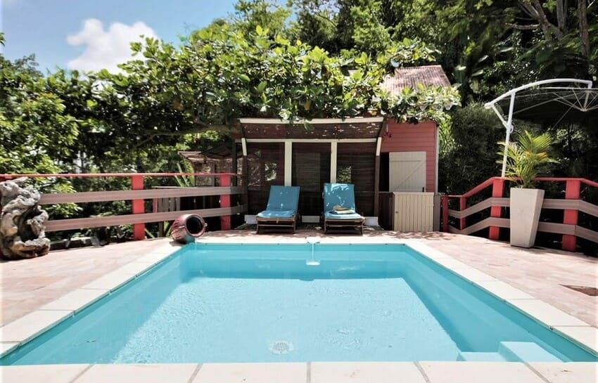 Martinique Cottage L Inka Piscine 3