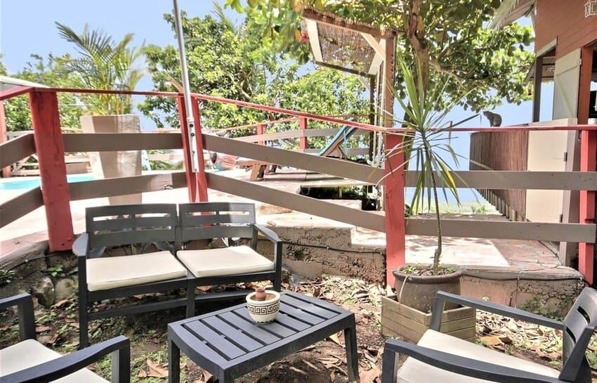 Martinique Cottage L Inka Salon De Jardin