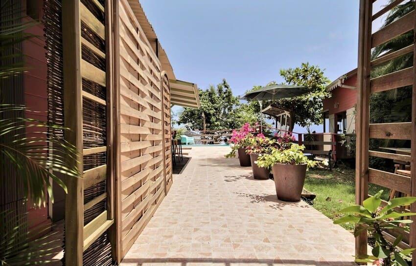 Martinique Cottage L Inka Terrasse