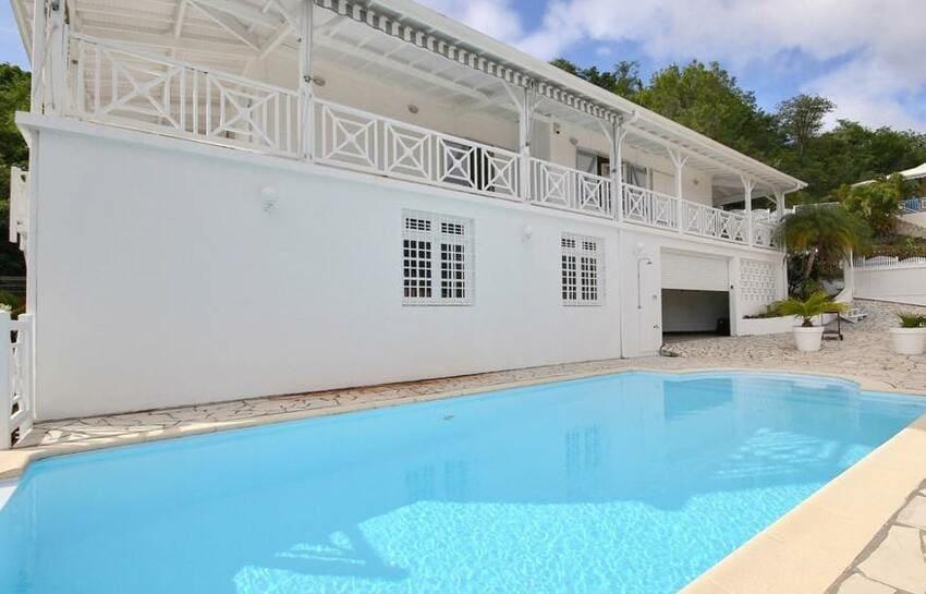 Martinique Villa Anse Bleue Vue D Ensemble