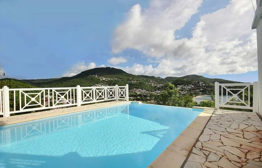 Martinique Villa Anse Bleue Vue