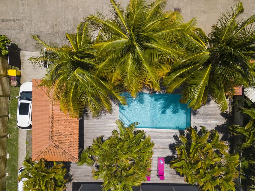 Plan Villa L Oasis Martinique