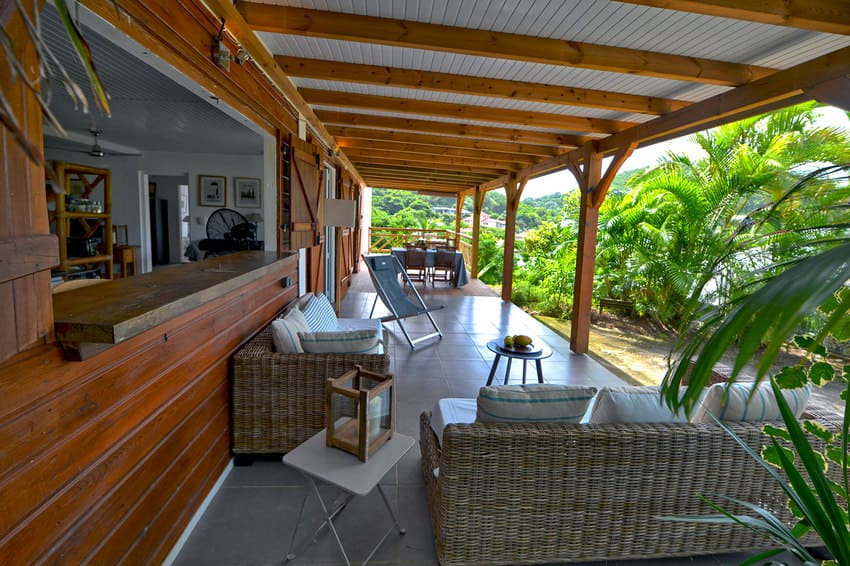 Terrasse Pacific Papayers