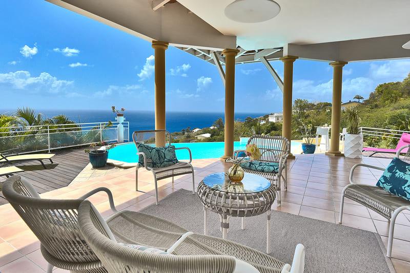 Villa C0lonnes Caraibes Martinique