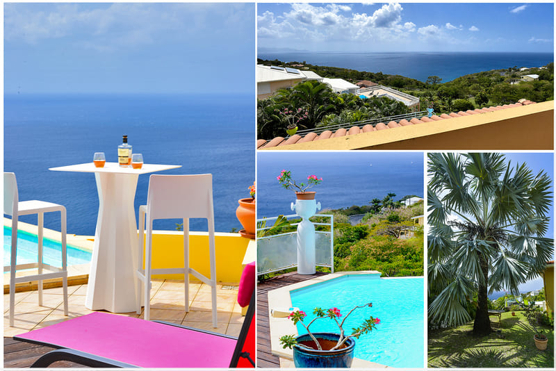 Villa Colonnes 2 Caraibes Martinique