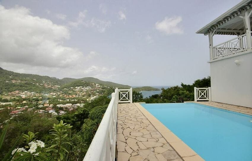 Villa De Lanse Bleue Piscine Vue Mer
