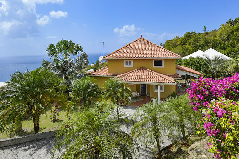 Villa Les Calonnes Caraibes Martinique