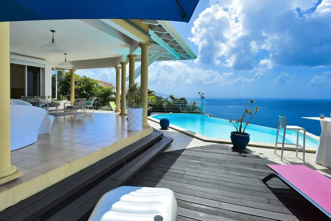 Villa Piscine Les Calonnes Caraibes Martinique