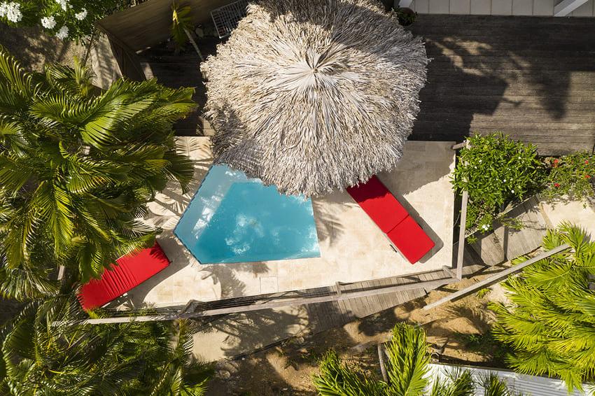 Vue Turquoise Parasol Plan