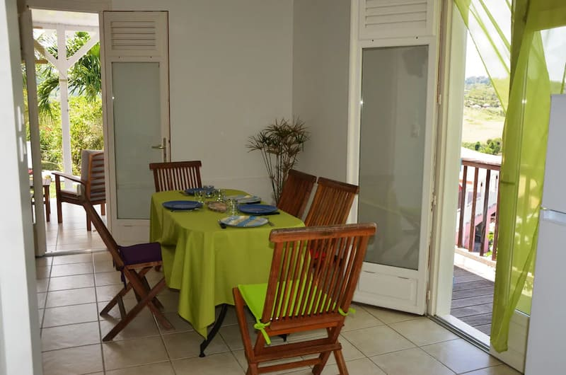 Table Manger Villa Bambou