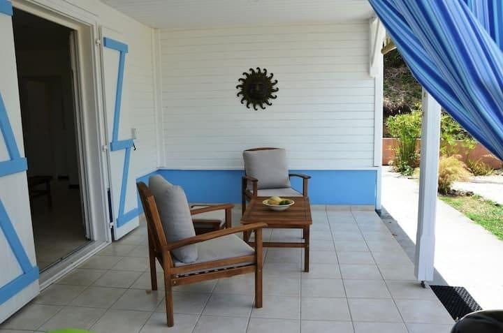 Terrasse Villa Bambou
