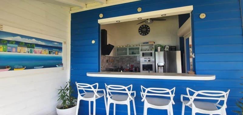 Bar Cuisine Villa Pointe Sables