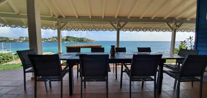 Table Repas Exterieur Villa Pointe Sables