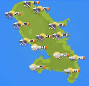 meteo martinique
