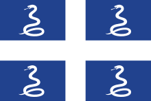 drapeau martinique serpents esclaves
