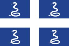 drapeau martinique serpents esclaves