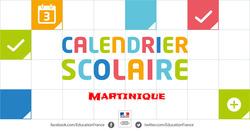 calendrier scolaire martinique