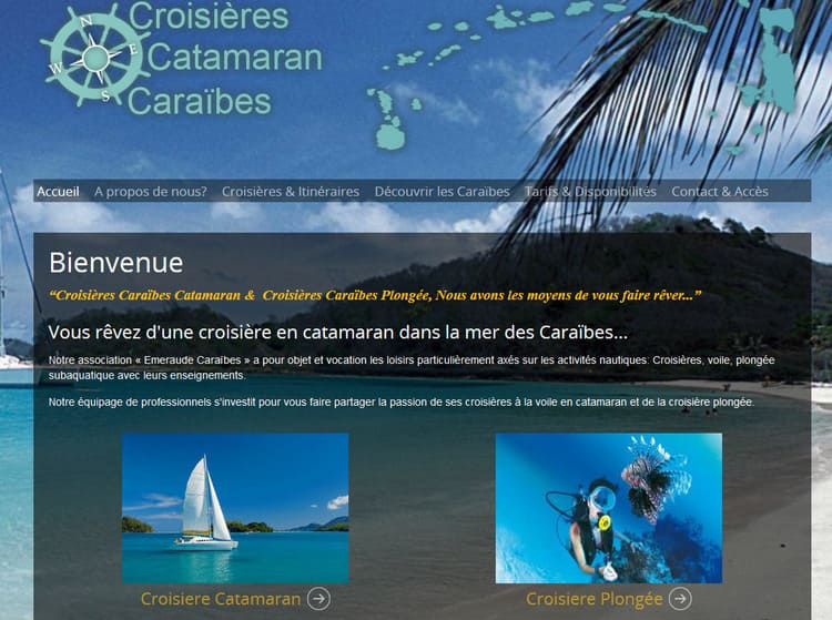 croisières catamaran caraibes