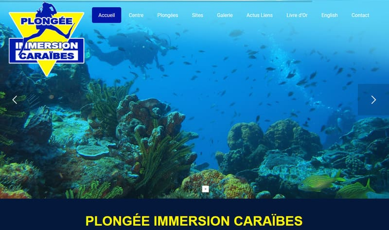 plongée immersion caraibes