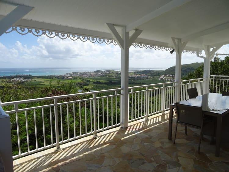 Villa martinique avec piscine et vue mer