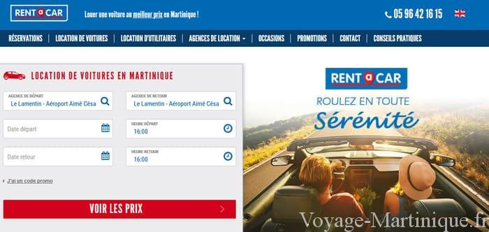 Location voiture Rent a Car Martinique