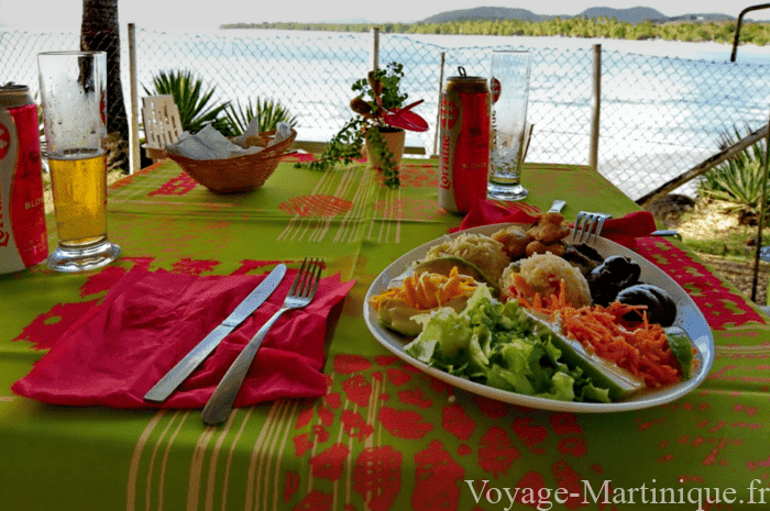 Assiette Martiniquaise Creole