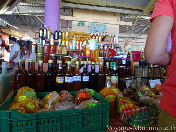 Marché Sainte Anne Martinique