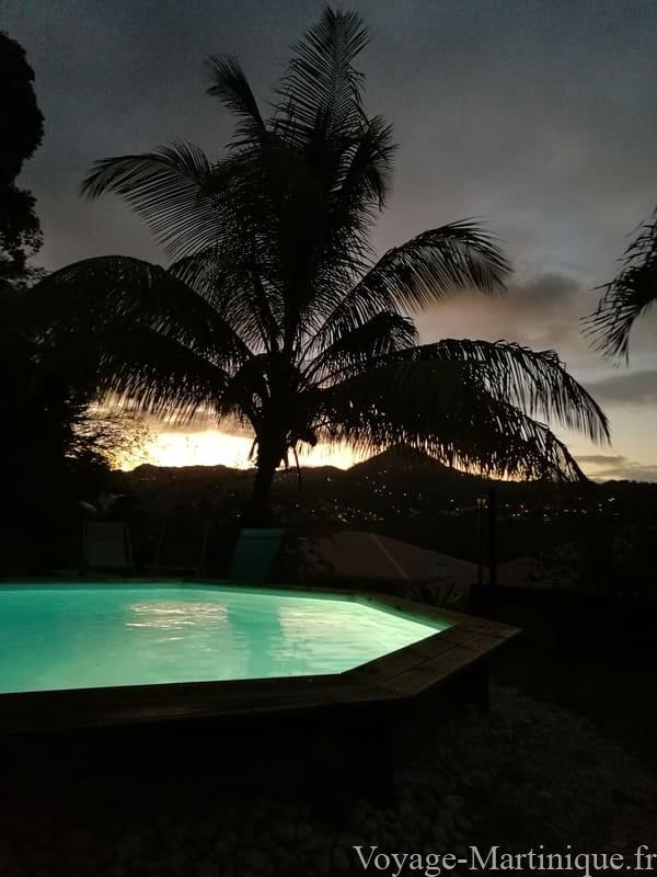 Piscine Nocturne Martinique