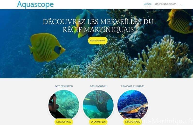 Aquascope Martinique