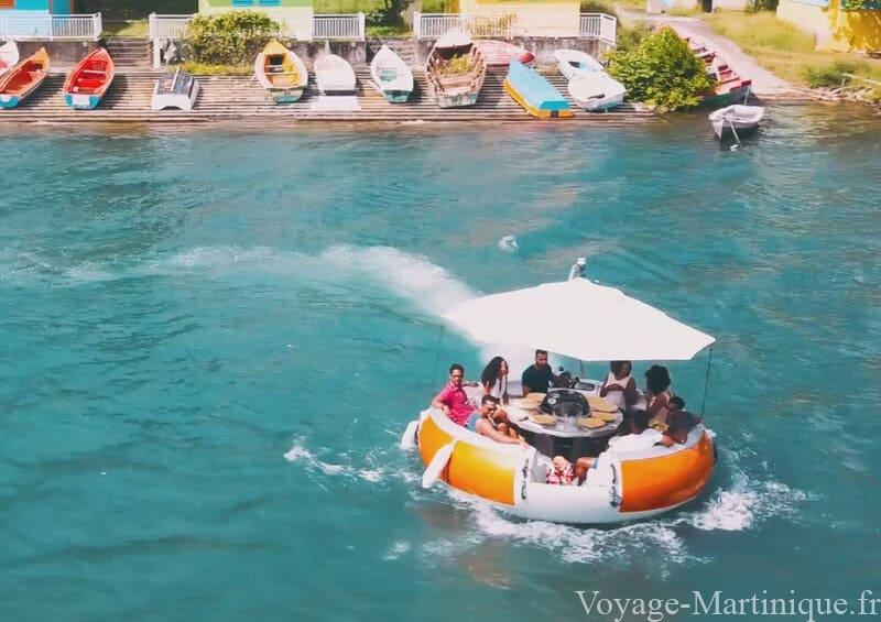 Bbq Donuts Boat Martinique