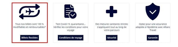 Billet Air France Modifiable Remboursable