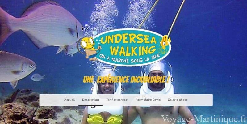 Undersea Walking Martinique