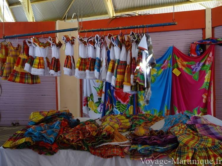 Robe Traditionnelle Madras Martinique